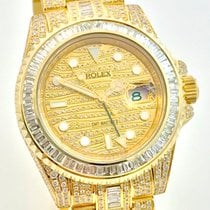 Rolex GMT Master II 2 Ice Baguette Diamonds Full Iced out