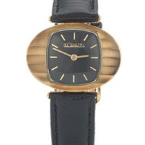 Jaeger-LeCoultre Pre-Owned 14K Gold Manual Wind Wristwatch -...