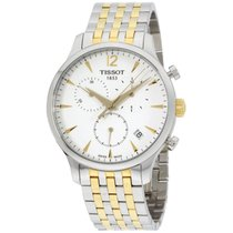 Tissot T-classic Tradition Two-tone Chronograph Men's...