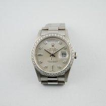 勞力士 (Rolex) DAY-DATE PLATINO E DIAMANTI
