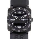 Bell & Ross Aviation Black Stainless Steel Analog &...