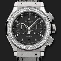 Hublot Classic Fusion Chronograph Titanium Diamonds 42 mm