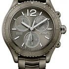 Ebel X-1 Chronograph Grey Dial Grey PVD Steel Men's Watch