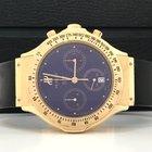 Hublot Mdm Ouro Rosé Chronograph Completo Blue Dial