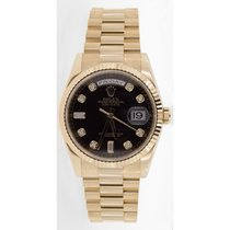Rolex President Day-Date 118238 Men's New Style Heavy Band...