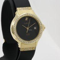 Hublot MDM lady's 18k yellow gold diamonds watch