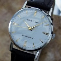 Seiko Crown 1950s Stainless Steel Manual Japanese Collectible...