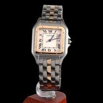 Cartier Panthere Steel and Gold Quartz Men Size