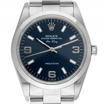 Rolex Air King Stahl Automatik Armband Oyster 34mm Ref.114000M...