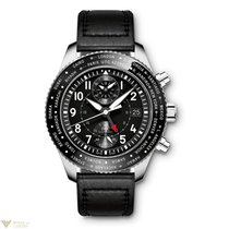 IWC Pilot Timezoner Chronograph Stainless Steel Men's Watch