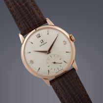 Omega 18ct rose gold manual watch