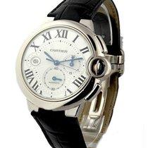 Cartier W6920005 Ballon Bleu Chronograph in White Gold - Large...
