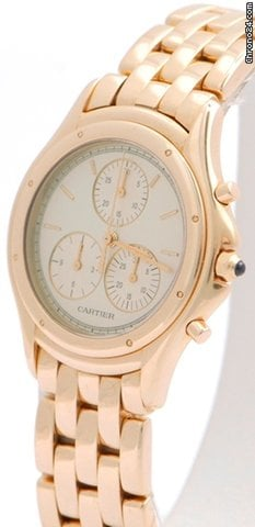 Cartier Cougar Damen Chronograph