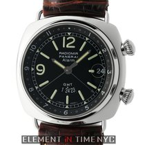 Panerai Radiomir Collection Radiomir GMT Steel 42mm Black Dial...
