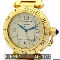 Cartier Pasha Collection Pasha 18k Yellow Gold 38mm Ref.