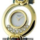 Chopard Happy Diamonds 7 Diamonds 18k Yellow Gold 26mm Ref....