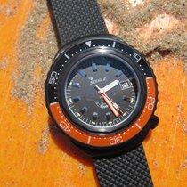 Squale Professional 2002 Black PVD Orange - Black dial