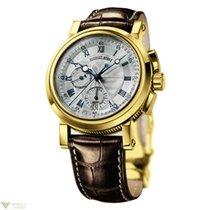 Breguet Marine Chronograph 18k Yellow Gold Men's Watch