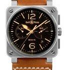 Bell & Ross Aviation Men's Watch BR03-94-GOLDEN HERITAGE