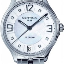 Certina DS Dream C021.210.11.116.00 Elegante Damenuhr mit...