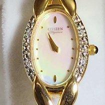 Citizen Elegant Yellow Gold And Diamond Citizen Elegance...