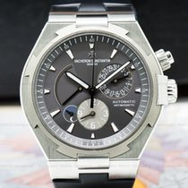 Vacheron Constantin 47450/000W-9511 Overseas Dual Time SS Grey...