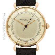 Vacheron Constantin vintage 1950's 18k rose gold dress watch