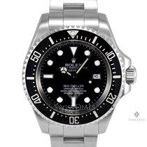 Rolex Deepsea Sea-Dweller Stainless Steel Black Dial 60min...