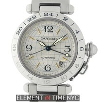 Cartier Pasha Collection Pasha GMT Stainless Steel 35mm...