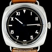 Panerai S/S Black California Dial Radiomir 1936 47MM B&P...