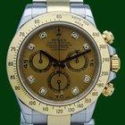 Ρολεξ (Rolex) Daytona Cosmograph 116523 Gold Steel Diamonds...