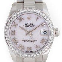 Rolex Lady 31 Platinum Ladies 31mm President Watch 178286