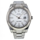 Rolex Datejust Ii 41mm 116334 Stainless Steel/18k White Gold...