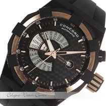 Concord C1 World Timer Stahl / Gold CC-01-678-1016-2556BLK-4/3