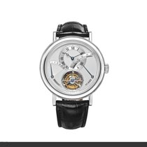 Breguet Tourbillon Automatic Regulator Platinum Watch