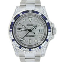 Rolex GMT-Master II Steel Diamond Custommade