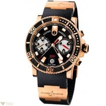 Ulysse Nardin Maxi Marine Diver Chronograph 18k Rose Gold...