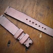HANDMADE NEW - Strap - natural leather - Light Pink 18/16 mm