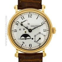 Patek Philippe 18k rose gold Power Reserve Moonphase