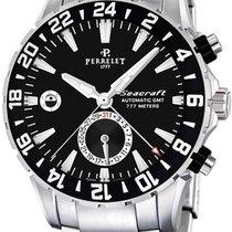 Perrelet NIB Perrelet Seacraft GMT 2nd Time Zone