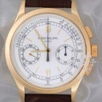 Patek Philippe Classic 5170J Chronograph Mens 18K Gold B&P...