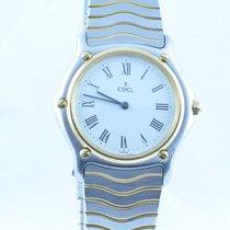 Ebel Herren Uhr Stahl/750 Gold 34mm Sport Classique Top Zustand