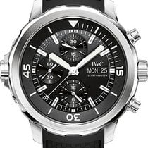IWC Aquatimer Chronograph Stainless Steel Black Dial 44mm