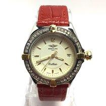 Breitling 1884 Callisto Ss  Unisex Watch Rotating Diamond...