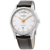 Hamilton Jazzmaster Silver Dial Stainless Steel Mens Watch...