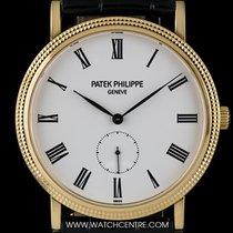 Patek Philippe 18k Y/G White Roman Dial Calatrava Gents 5119J-001