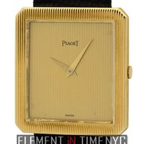 Piaget Protocole 18k Yellow Gold 25mm Champagne Dial Ref. 9154