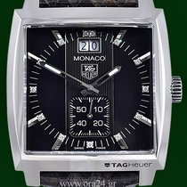 TAG Heuer Monaco Grand Date Chrono Diamonds Box&Papers