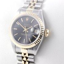 Rolex LADY DATEJUST STAHL / 18K GELBGOLD GOLD 750