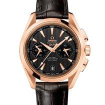 Omega Aqua Terra 150m Co-Axial GMT Chronograph 43mm Mens